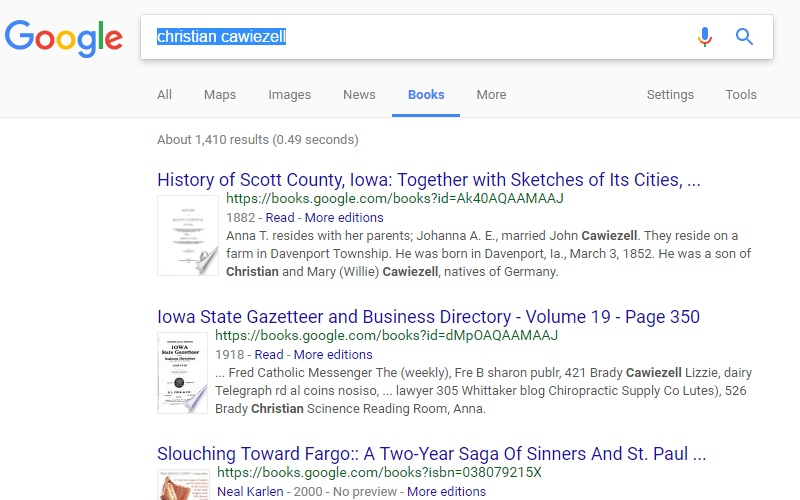 Google Books For Everyone Every So Often | Genealogy Tip of